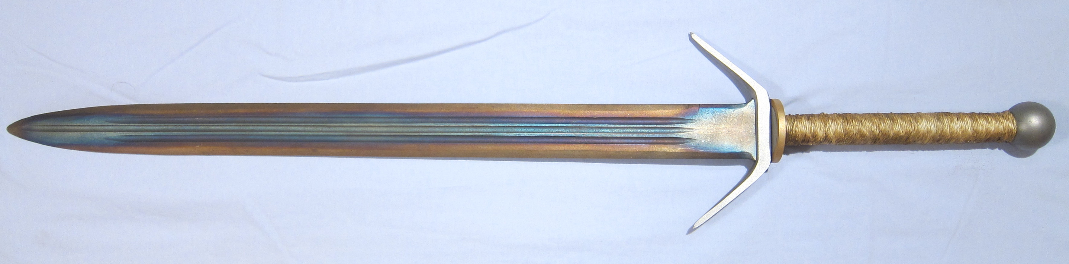 Differential tempered sword. Taken from wikimedia commons